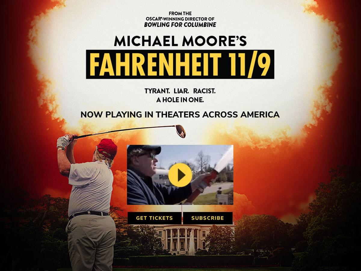 Fahrenheit 11/9 Premiers September 21