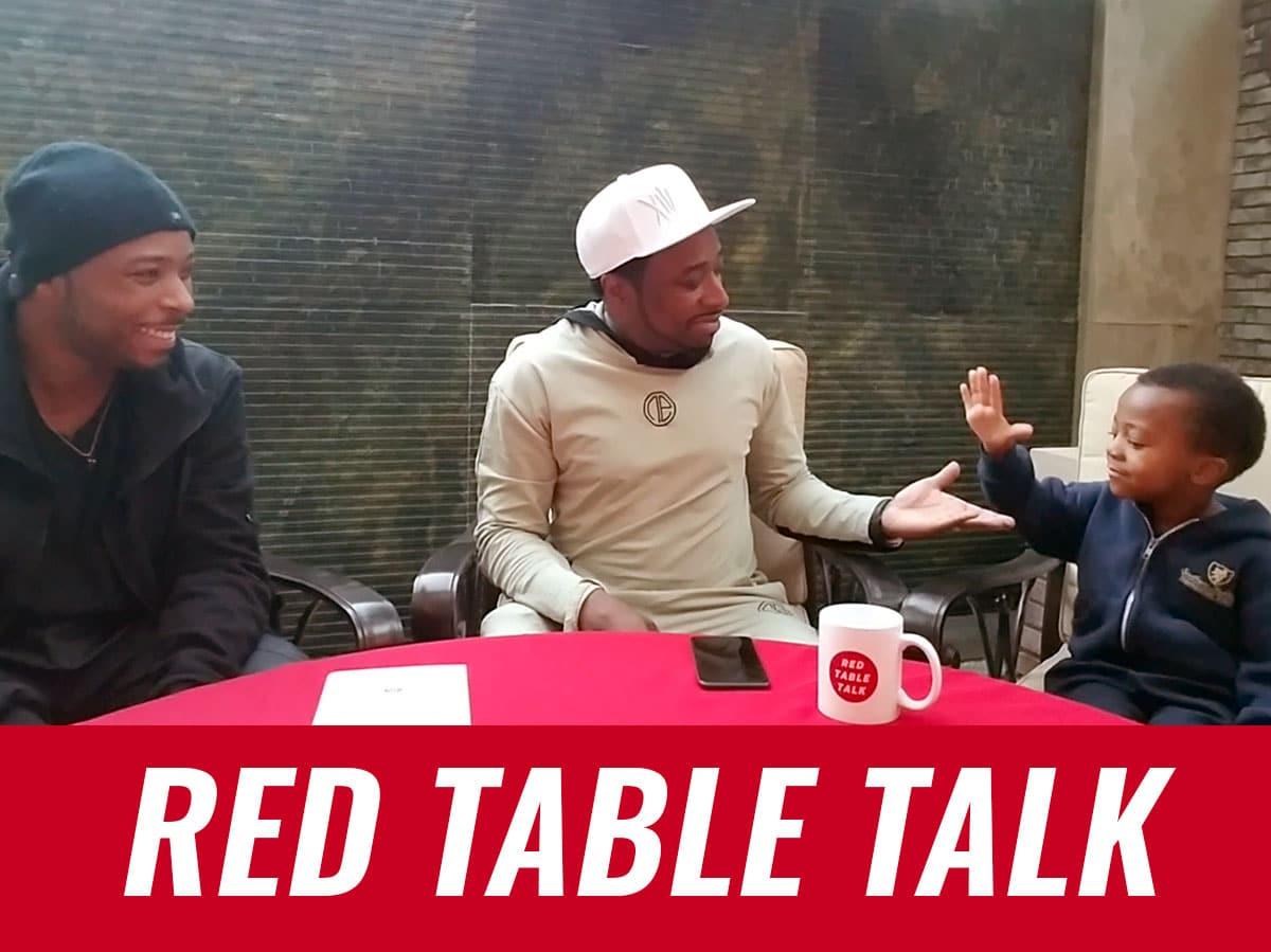 Eddie Griffin, Eddie Griffin Jr. and Chosen Griffin on Red Table Talk