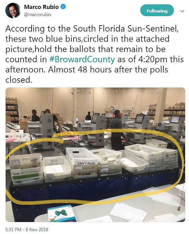 uncounted ballots
