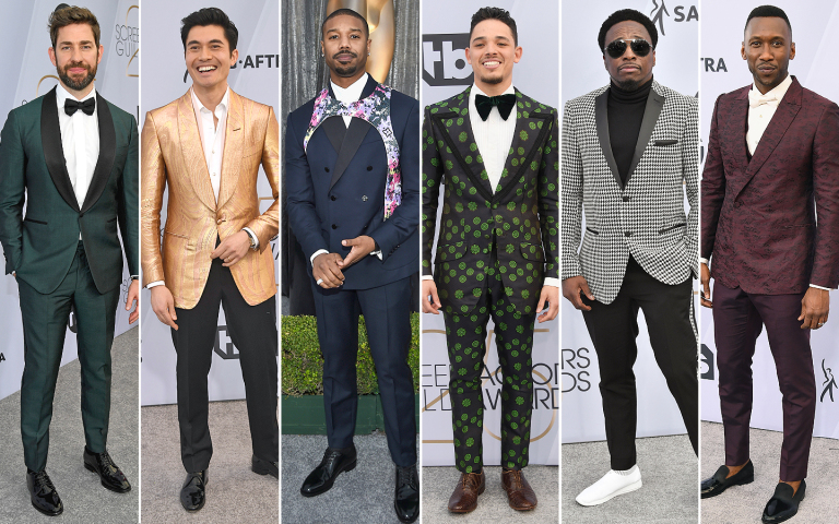 Eddie Griffin Makes GQ's Best Dressed Mens List at the 2019 SAG Awards