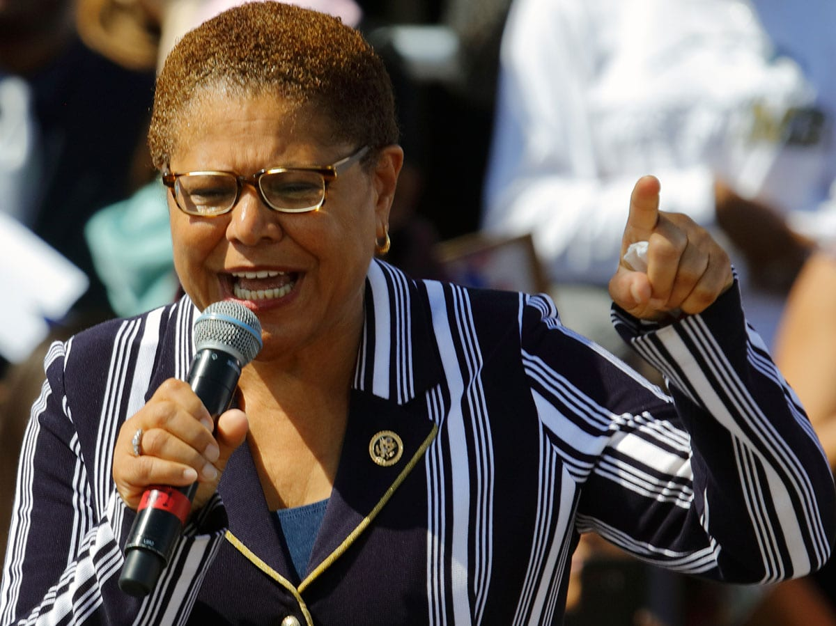 Democrats Drop Articles of Impeachment, Karen Bass Weighs In